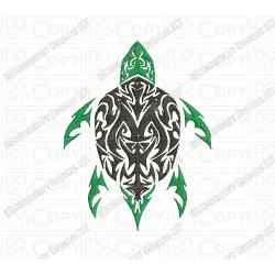 Turtle tribal tattoo embroidery design in 3x3 4x4 and 5x7 for 3x3 tattoo ideas