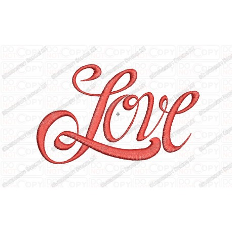 free love in cursive letters